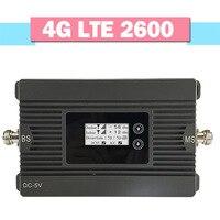 Walokcon 4G LTE 2600 Handy Signal Verstärker 80dB Verstärkung AGC LCD Display Handy Repeater 4G LTE 2600MHz Signal Booster