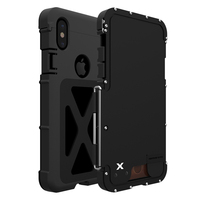 For Apple iPhone X Case Shockproof Aluminum Metal Heavy Duty Protection Shield Cases Armor For Apple iPhone X Case Anti Shock