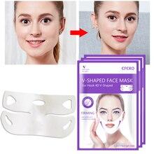 EFERO outils de lifting minceur soins de la peau masque Facial mince traitement du visage Double menton peau beauté santé femmes Anti Cellulite