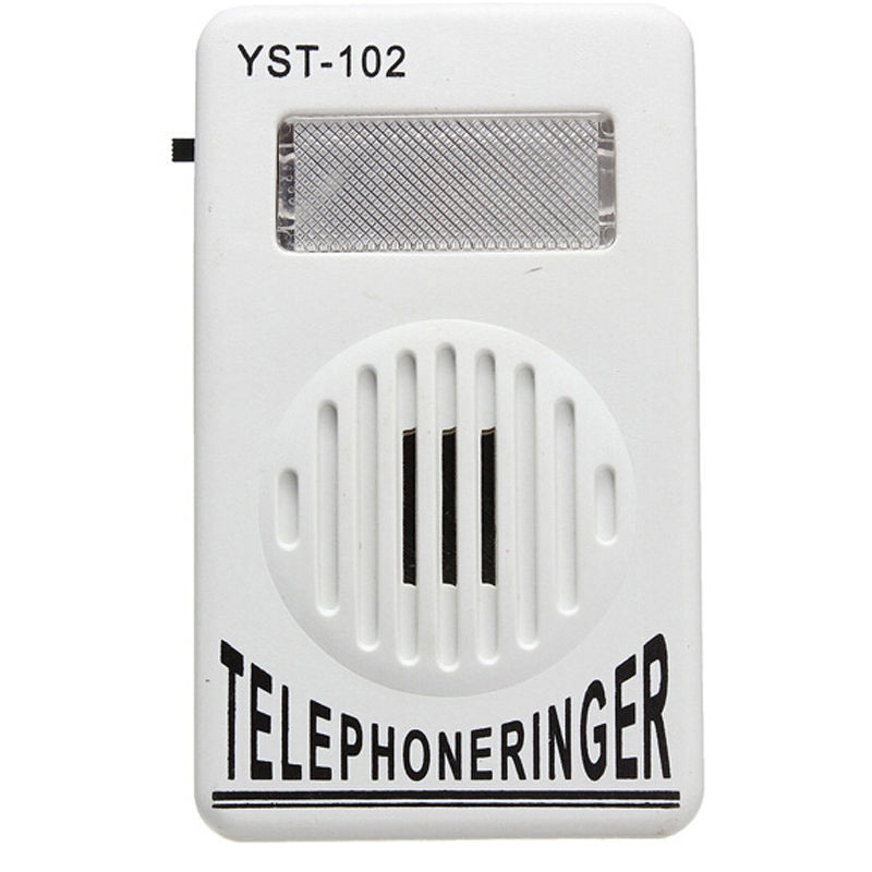 Phone Accessory Bundles Loud Telephone ringtones 95dB Telephone Ringer with Visual Phone Flasher Light