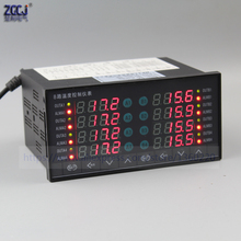 digital thermostat 8 ways SSR output temperature controller with 8 ways DC voltage Alert output with RS485 communication
