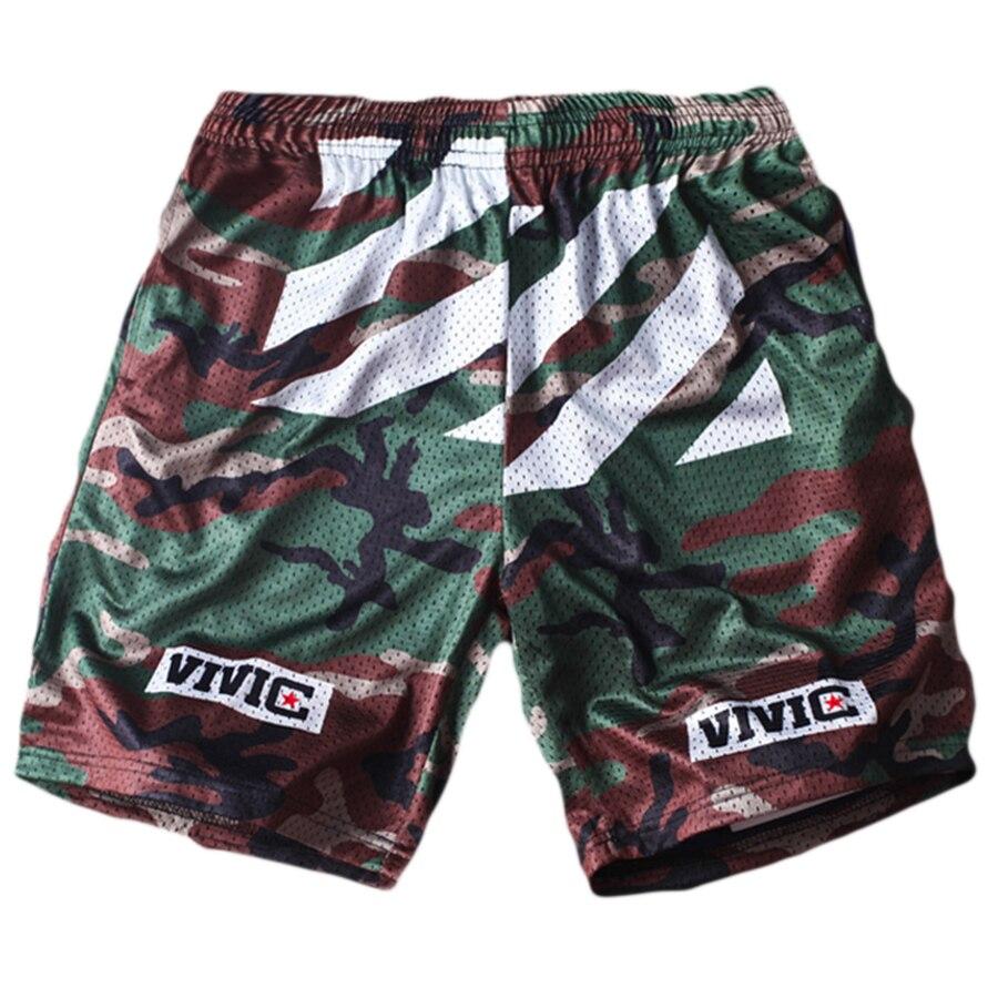 Men's Clothing Mens Swimming Trunks Men Casual Board Shorts Summer Pants 2019 Camouflage Graffiti Printed Beach Shorts Elastic Waist Short Men Last Style