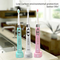 SG-917 Intelligent ultrasonic washable rechargeable electric Adult  toothbrush Teeth Brush Oral Care Dental
