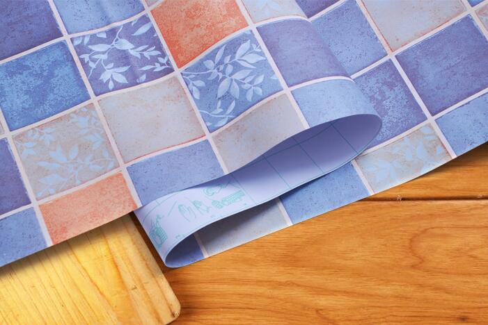Pvc wall sticker cucina mosaico adesivi per piastrelle bagno