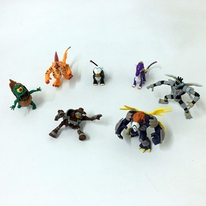 Image 3 - لينة المطاط 8 16 قطعة لا تكرار اليابانية Invizimals لعبة على الانترنت لعبة الباندا عمل الشكل دمية d11
