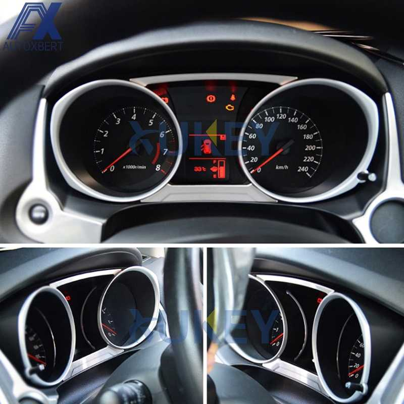 AX Voor Mitsubishi ASX Outlander Sport RVR 2013-2017 2018 2019 Chrome Dashboard Panel Instrument Gauge Cover Trim Molding bezel