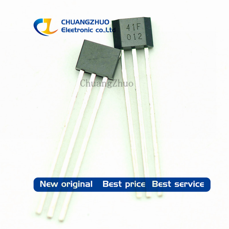 500PCS 41F TO 92S 0H41 SH41 SS41F TO 92 S41 Bipolar Hall Element Sensor Motor Electric