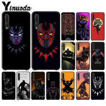 Yinuoda Avengers Marvel The Black Panther Phone Case for Huawei P10 plus 20 pro P20 lite mate9 10 honor view10 case