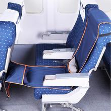 Регулируемая по высоте подставка для ног гамак с надувной подушкой чехол для сиденья для самолетов поездов автобусов 190X40 см