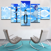 Modern Canvas Painting Modular Frame HD Printed 5 Pieces Anime Tokyo Ghoul Abstract Landscape Picture Home Decor Wall Art Poster