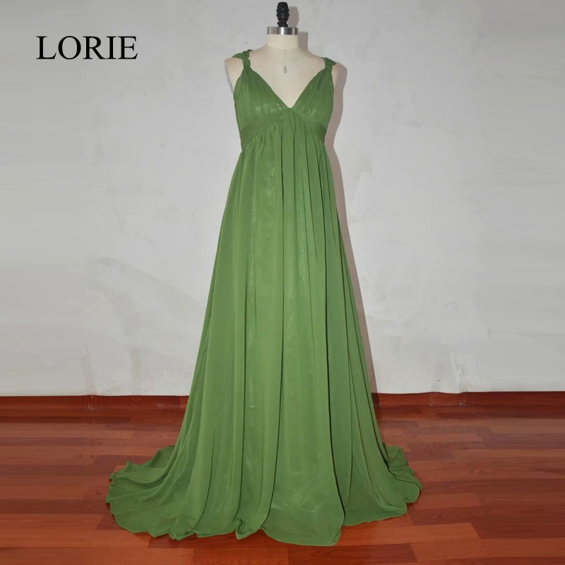 LOIRE Emerald Green Prom   Dress   2018 Robe de soiree Plus Size   Evening     Dress   Elegant Long Maternity   Dresses   For Baby Showers