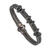 Новый 316L Нержавеющая сталь Jewelry Орел когти браслет atolyestone Стиль черный браслет циркон манжета для Для мужчин/Для женщин SR-0008