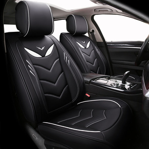 Image 1 - (Спереди и сзади) Специальные кожаные чехлы на автомобильные сиденья для Chevrolet Onix 2018 2013 прочные удобные чехлы на сиденья для Onix 2016