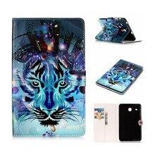 Kefo Para Samsung Galaxy Tab 9.6 E T560 T561 SM-T560 Cuero de LA PU Caso de la cubierta Para la Galaxia Tab T377 T580 T585N S3 9.7 T820 T825 tablet