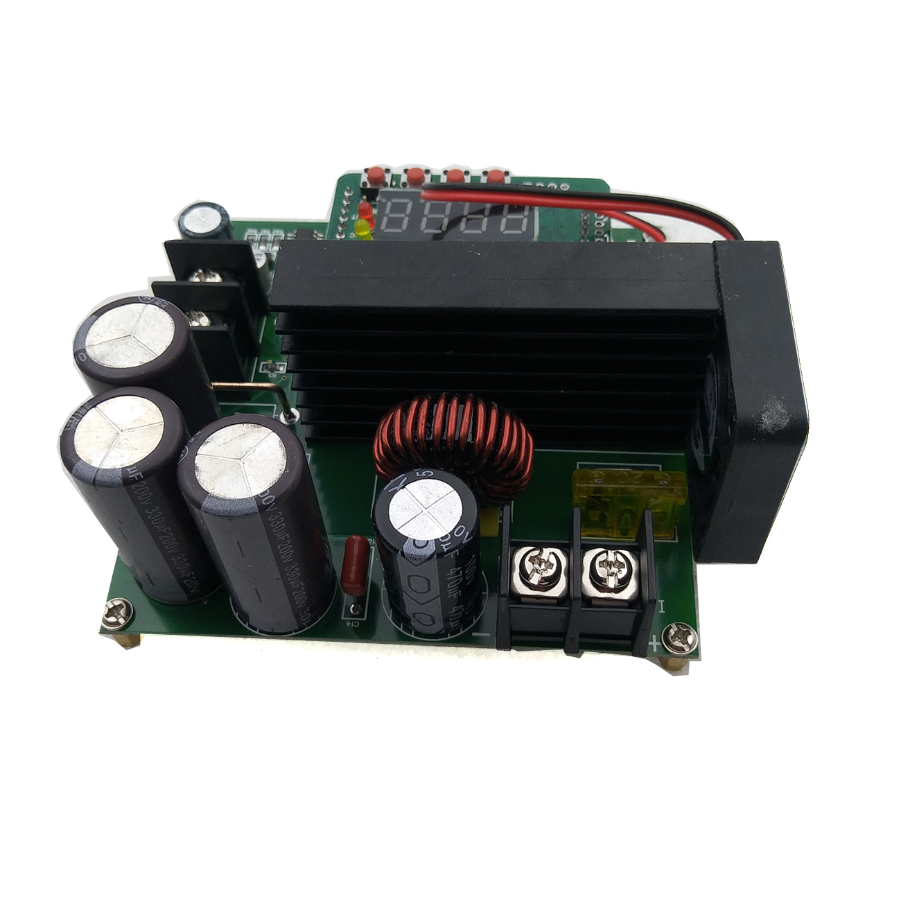 Image 3 - 5pcs/lot B900W adjustable impulse module Current Transformer Voltage Regulator Module Input Constant 8 60v to 10 120v 900w-in Integrated Circuits from Electronic Components & Supplies