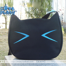 Anime Chuunibyou Demo Koi ga Shitai Shichimiya Satone Cafe Kichijoude Cat Cosplay Shoulder Bag Canvas School