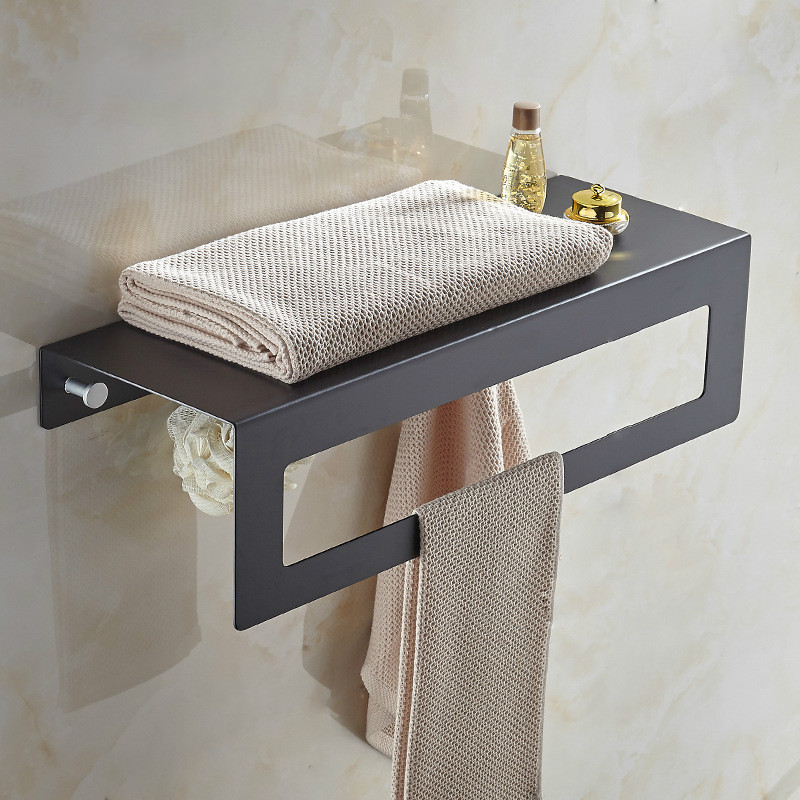 New black towel stand bathroom towel rack rack hotel engineering pendant wholesale towel bar lo828135 17 10 points interactive touch film with usb connection transparent touch foil products