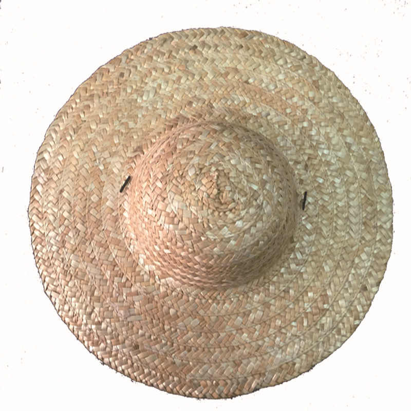 58582b05 ... 1Pc Straw Hat Creative Art Painting Straw Sun Hat Caps Straw Beach Cap  For Children's Day ...