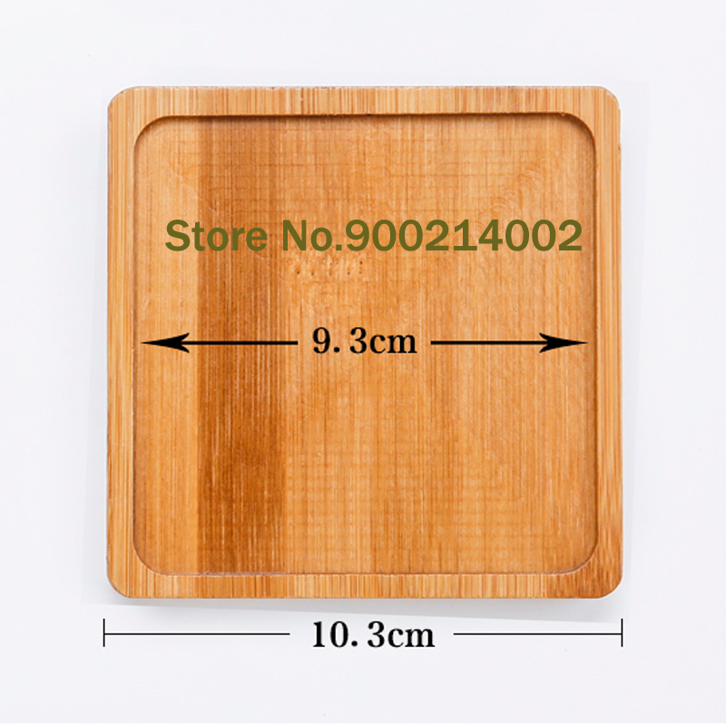 US $5 6 20% OFF|DIY personality practical creative design mosaic coaster  handmade accessories square bamboo groove-in Mosaic Making from Home &  Garden