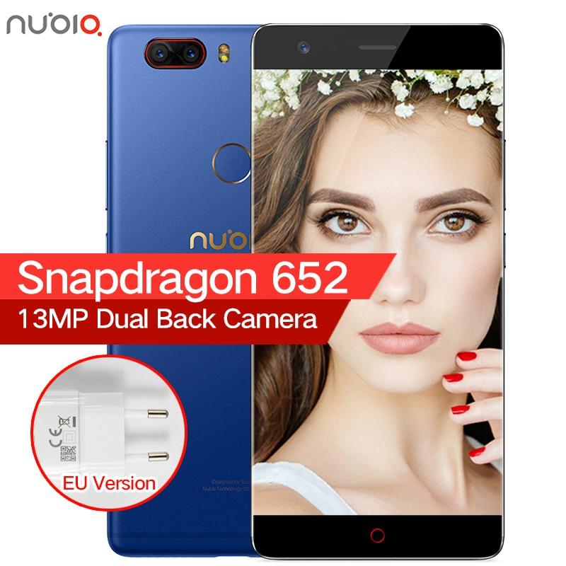 D'origine ZTE Nubia Z17 Lite Sans Frontières 6 GB RAM 64/128 GB ROM Mobile Téléphone Snapdragon 653 Octa Core 5.5 13MP Android 7.1