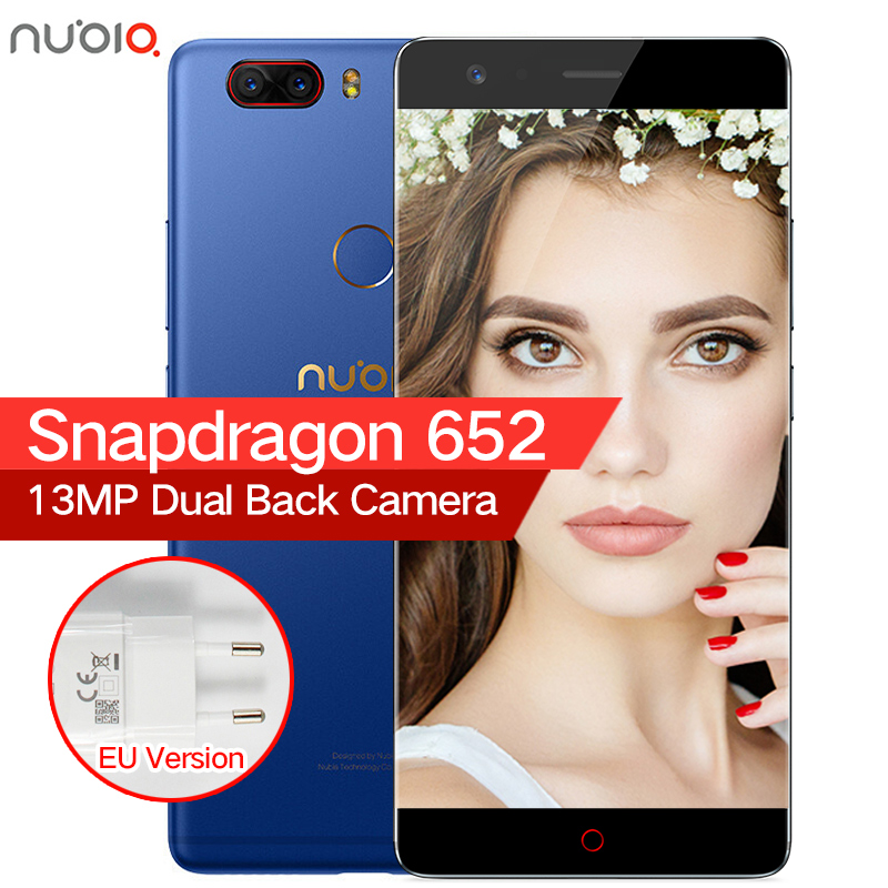"Original ZTE Nubia Z17 Lite Borderless 6GB RAM 64/128GB ROM Mobile Phone Snapdragon 653 Octa Core 5.5"" 13MP Android 7.1"
