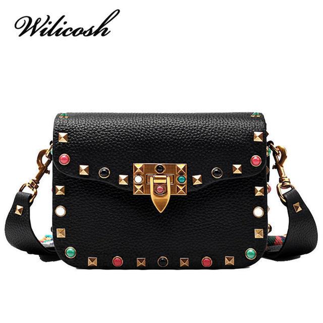 Wilicosh Brand Mini Women Bag Pu Leather Crossbody Bags Lady Colorful Strap S Shoulder Messenger Cross
