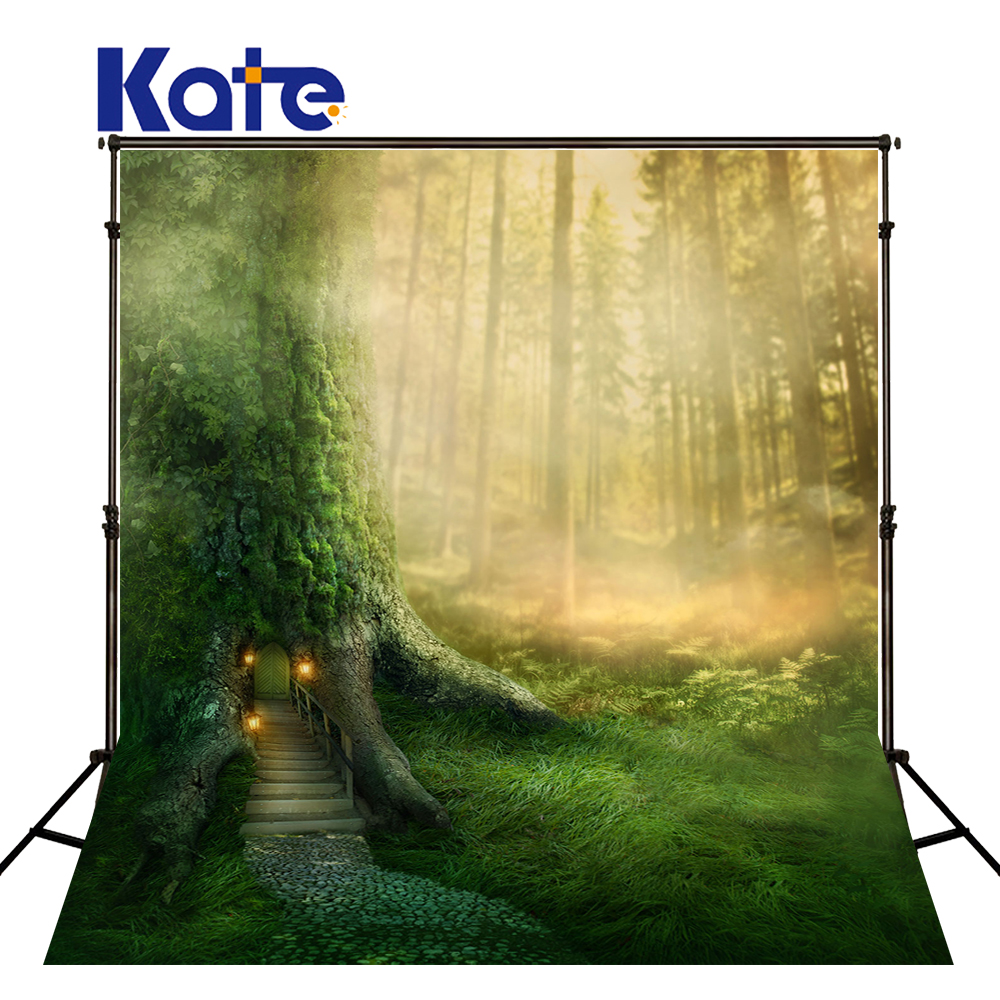KATE 8x8ft Photo Background Photography Scenic Backdrops Children Photo Background Forest Photography Backdrops for Photo Studio