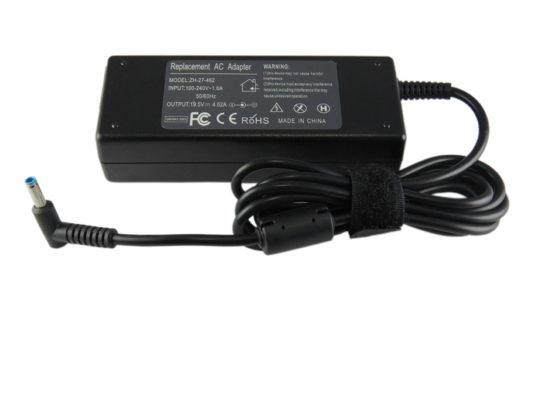 19.5V 4.62A 90W Laptop Ac Power Adapter Character For Dell Xps 13 12 Ultrabook Small Round Pin Factory Direct High Quality