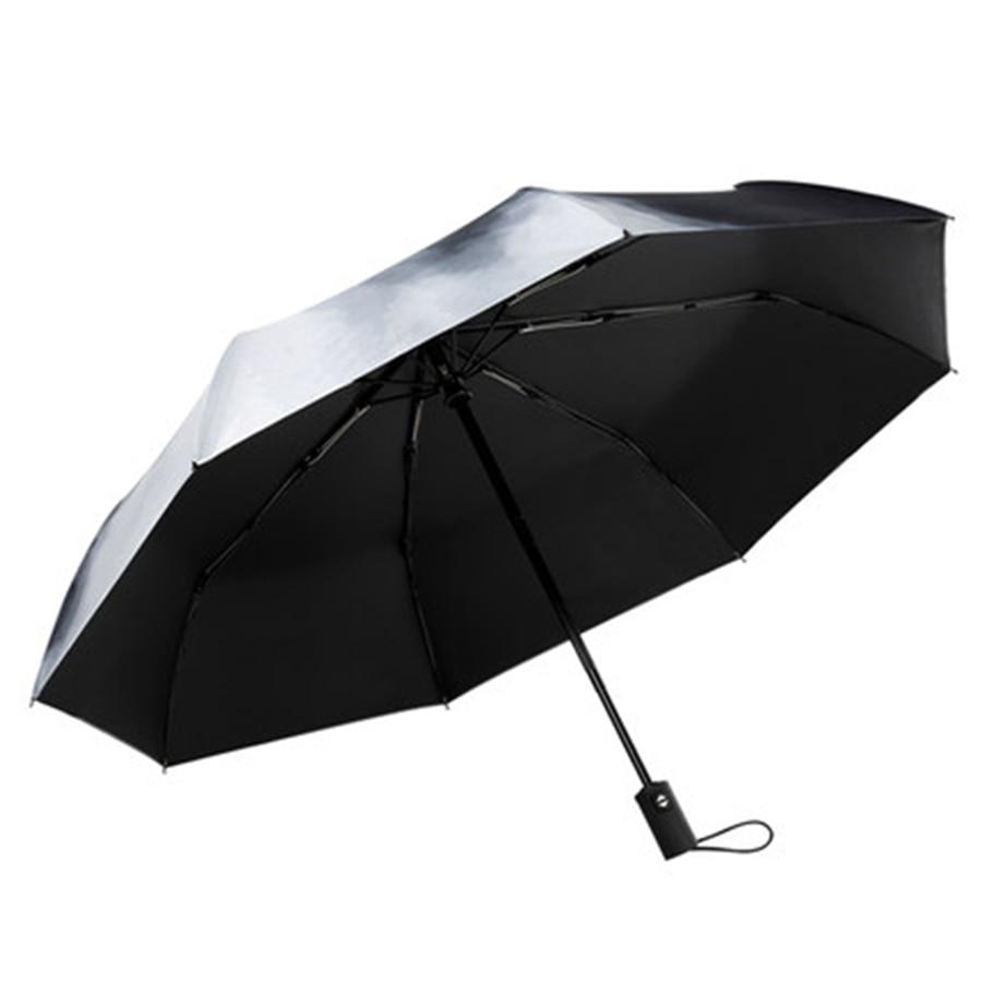 Mini parapluie pluie femmes automatique Parasol Corporation parapluie hommes hommes cadeau clair Uv paraguay pli Mujer poche plume 771 - 6