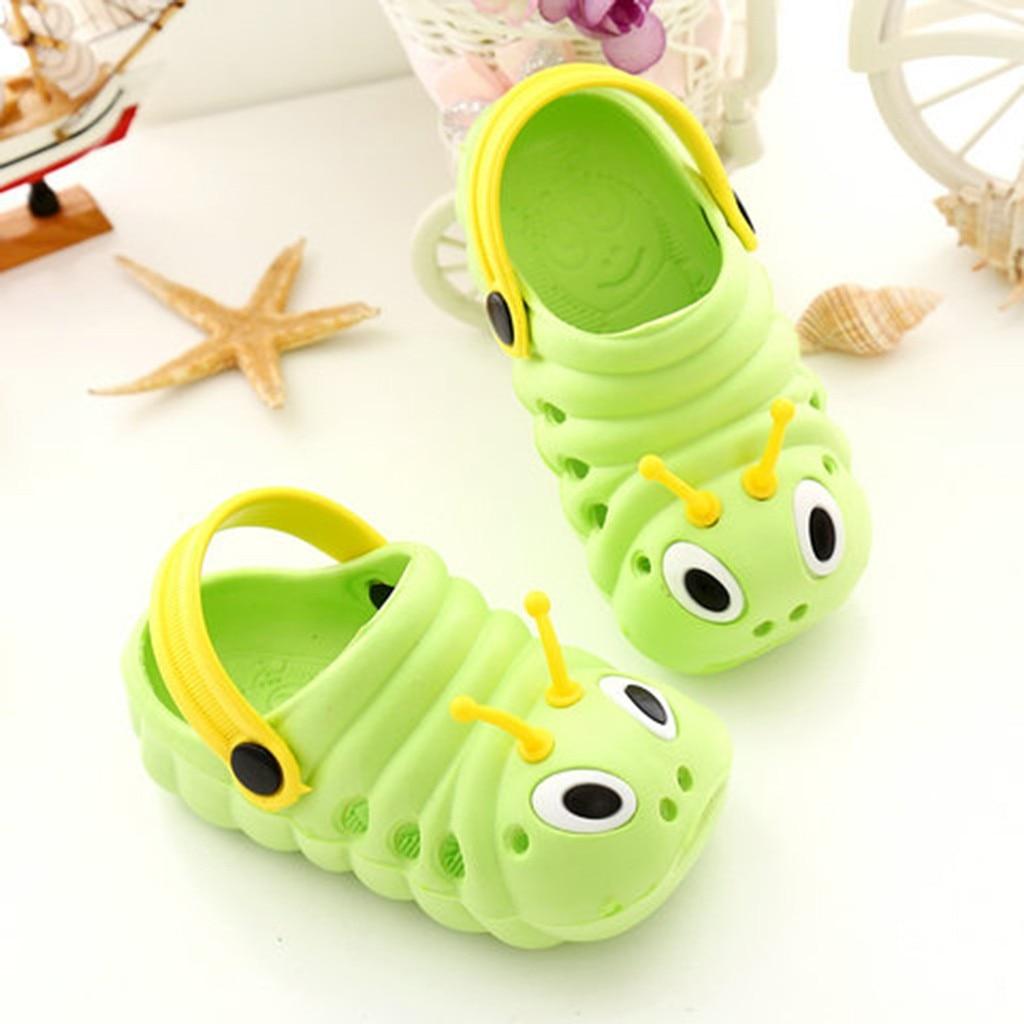 Fashion Summer Baby Shoes Toddler Cute Baby Boys Girls Fashion CartoonBeach Slippers Flip Shoes Buciki Dla Niemowlat2.462