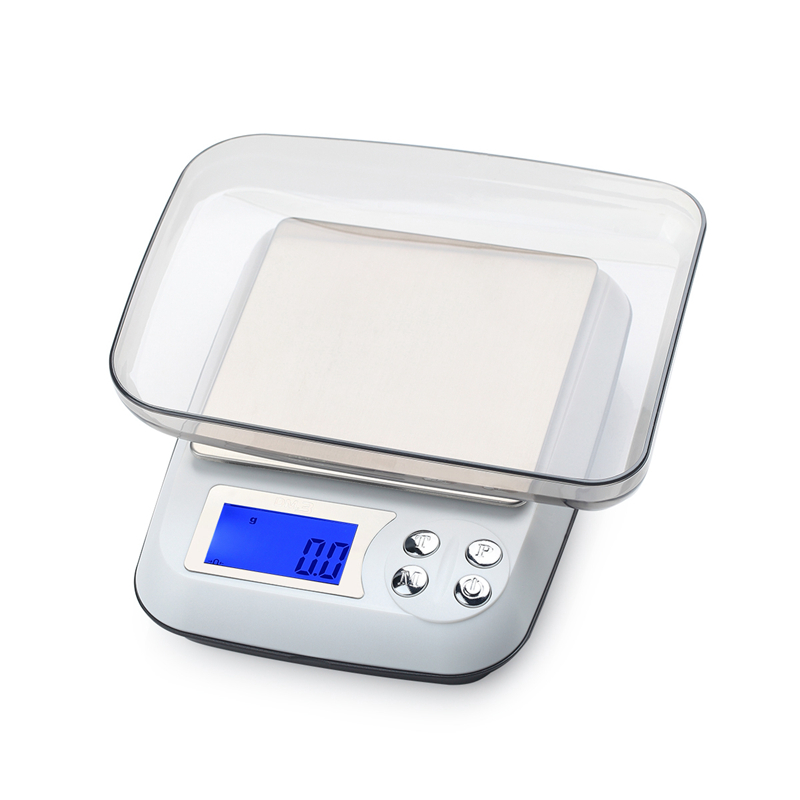 3kg 0 1g Lcd Digital Kitchen Scale Household Large