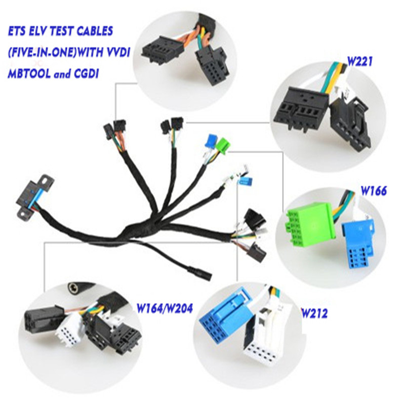 CGDI EIS ELV Test Cables for CGDI MB Works Together with VVDI BGA TOOL CGDI Prog