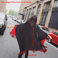 Fashion Women Blanket Oversized Scarf Wrap Long Knit Shawl Poncho Tassel Fringe -Y107