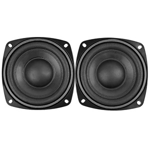 Image 4 - AIYIMA 2Pcs 4 inch 50W Subwoofer Audio Speaker Portable Mini Stereo 4 Ohm 8Ohm Speakers Woofer Full Range Car Horn Loudspeaker
