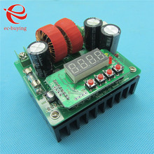 New 400W DC 8V-80V 10A Digital-Controlled Boost Step-Up Power Supply Module