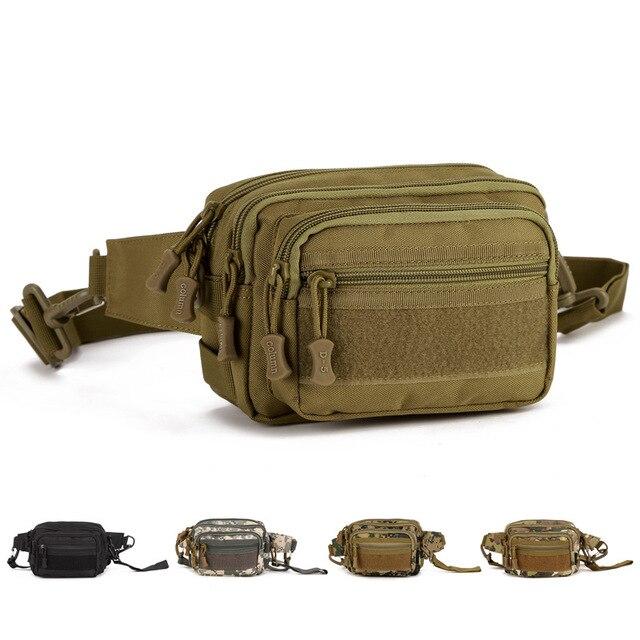 Nuevo Mens de La Llegada de La Cintura Bolsa de equipo Militar paquetes de la cintura bolso de la cintura bolsa de pierna impermeable para mujer y hombre