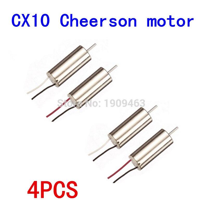 Cheerson CX-10 CX10 CX-10 CX-10A V646 V676 RC Part CW/CCW Motor for Cheerson CX-10 Hubsan H111 RC Quadcopter Parts