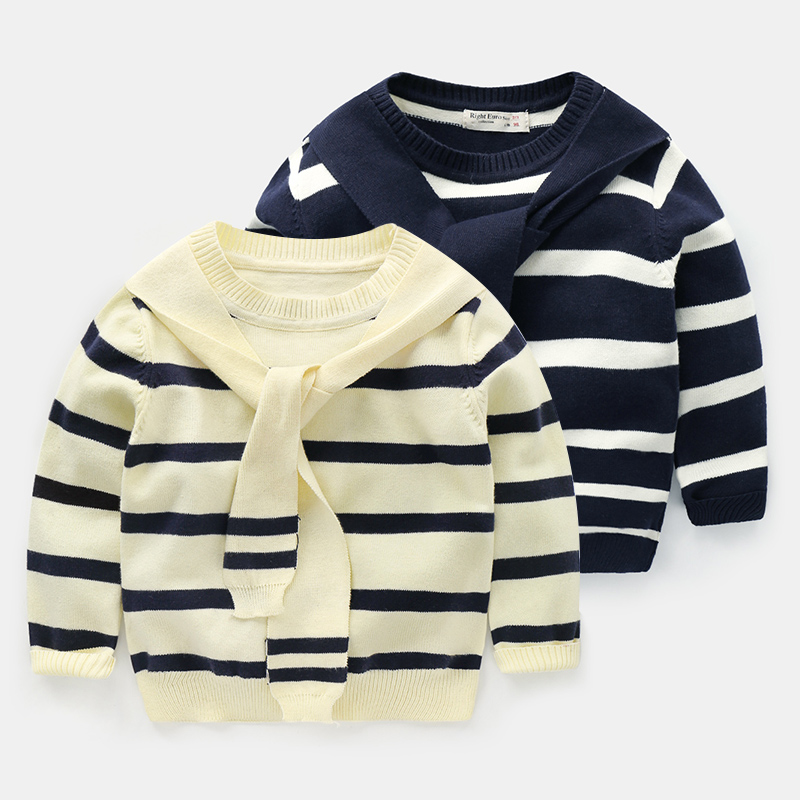 Children Knitted Sweaters Brand Baby Boy Clothes Infant 100% Cotton Long Sleeve Children Outwear Clothing Kids 12