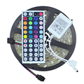 Waterproof LED Strip Light RGB 5050 5M 150LEDS + 44 Key IR Remote Controller RGB LED Diode Tape Ribbon Light Outdoor Lighting