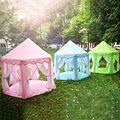 Портативный Дети Играют Палатки Сверхбольших Ограждения для Детей Ребенок Забор Девушки Принцесса Замок в Помещении Открытый Игрушки Дом Манежи