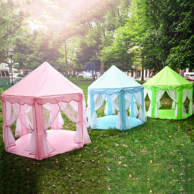 Outdoor Toys For Girls : Portable kids play tents ultralarge fencing for children