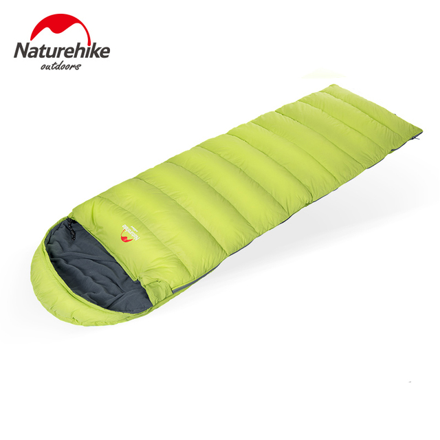 Naturehike Winter sleeping bags Polyester Waterproof Ultralight Outdoor Camping hiking NH Outdoor Envelope Sleeping Bag 205*85cm