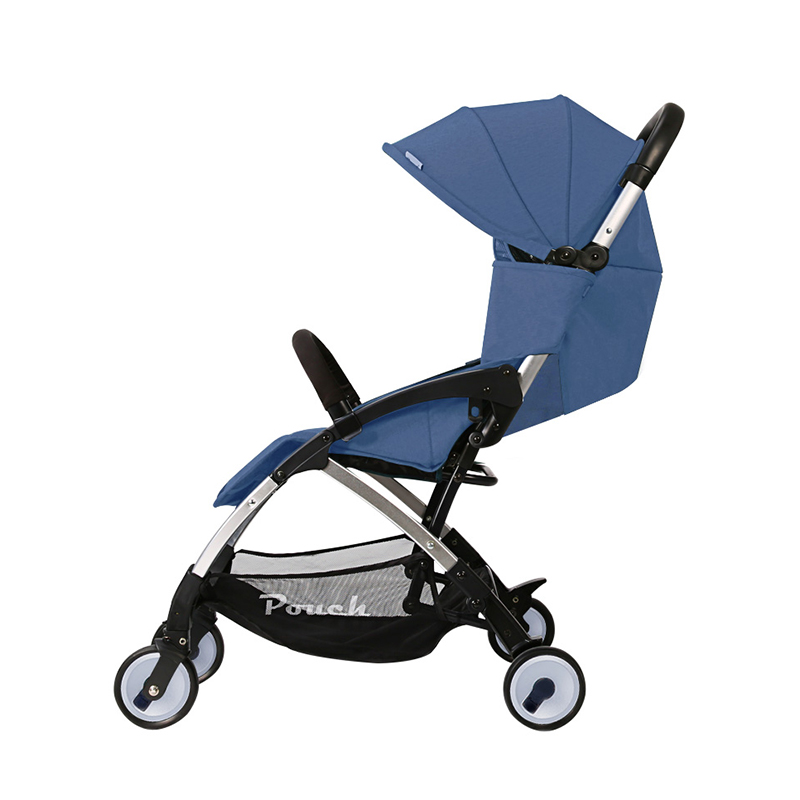 Pouch Baby Stroller Can Seat, Can Lie, Light Folding Childre