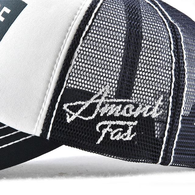 dfcf454edeba Xthree New Men's Baseball Cap Print Summer Mesh Cap Hats For Men ...