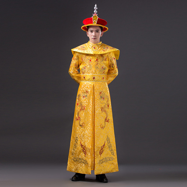 13b6c6508 Adult Chinese Emperor Costume Ancient Costumes Chinese Emperor Clothes  Prince Robe Clothing Tang Dynasty Emperors-in Chinese Folk Dance from  Novelty ...