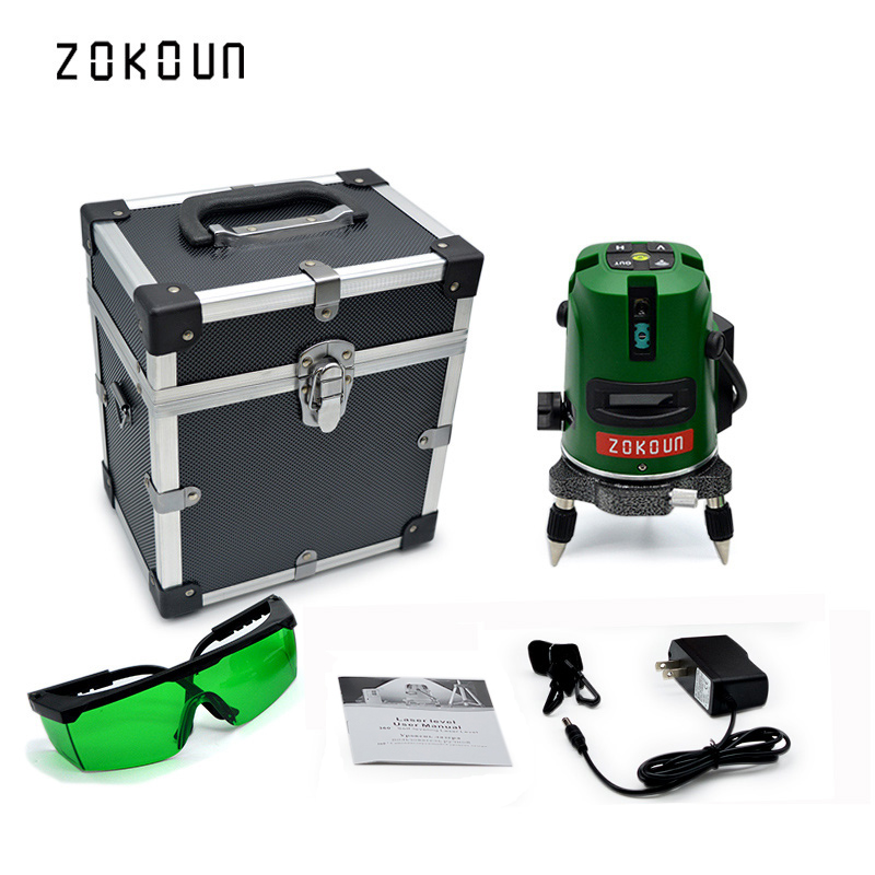 US plug ZOKOUn 5 lines 6 pionts LD laser module self-leveling 360 rotary laser could work with laser receiverUS plug ZOKOUn 5 lines 6 pionts LD laser module self-leveling 360 rotary laser could work with laser receiver