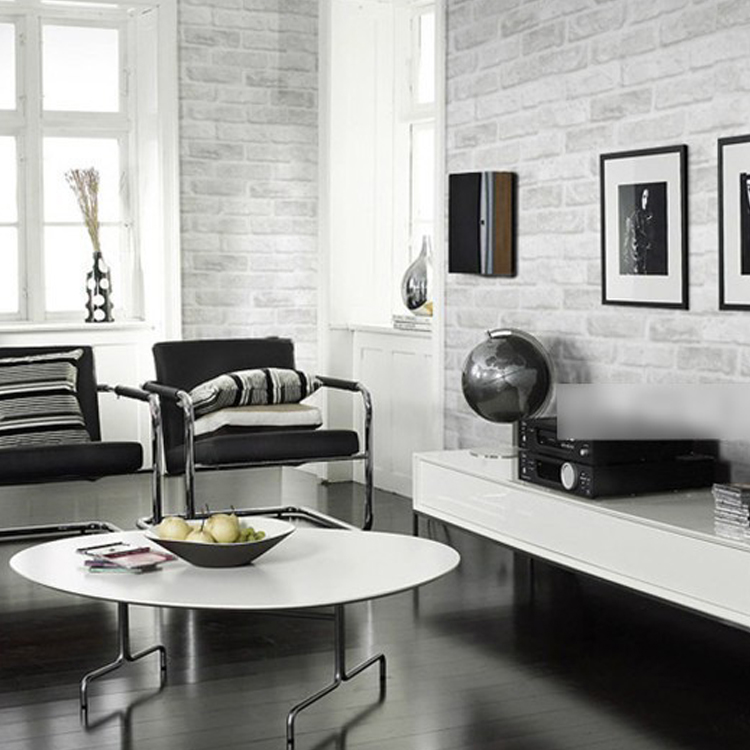 Hot sale 0.53m*10m modern design vinyl wallpapers brick wall home ...