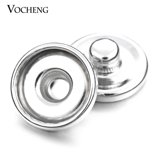 200pcs/lot Small 12mm Metal Button Snap Charms Base Edged Interchangeable Jewelry Accessory VG-192 Free Shipping