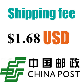 China Post Registered Air Mail The Shipping Cost $1.68 please dont pay the link alone image