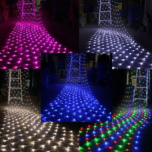 1.5m*1.5m Net Lights 6w 100 LED Net Mesh Decorative Fairy Lights Twinkle
